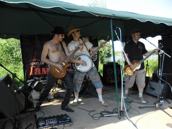 Выступление Чучело Земли на фестивале в Гамово