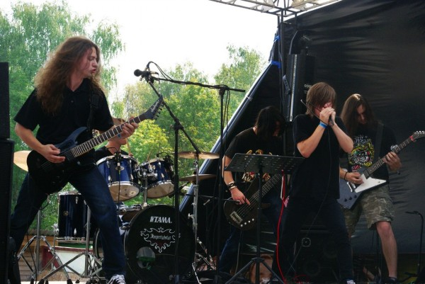 выступление на Blackened Life Open Air 2013