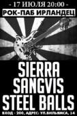 SIERRA, SANGVIS, STEEL BALLS