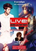 Live! ANIME & K-POP Party